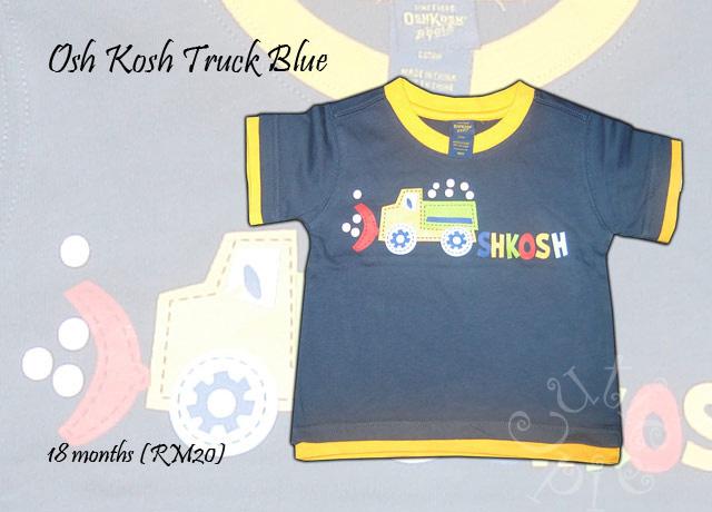 Osh Kosh Truck blue shirt