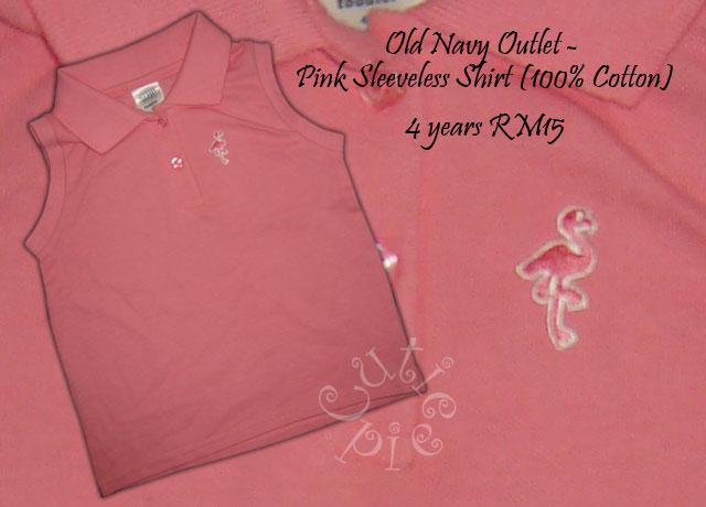 Old Navy - Pink Sleeveless Shirt