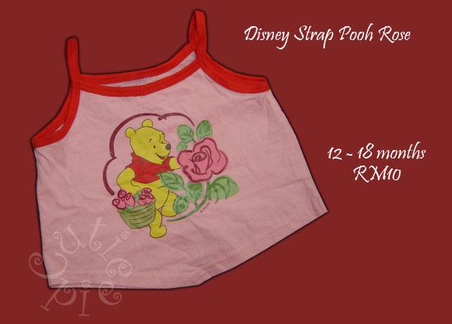 Disney Strap Pooh Rose