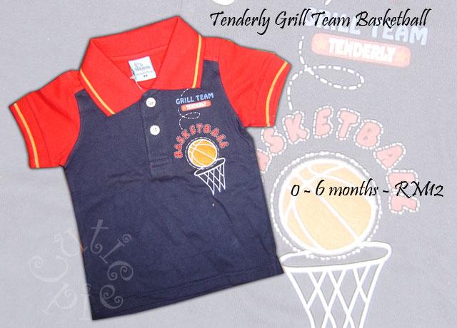 Tenderly Grill Team Basketball