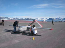 The Science Instrumentation Environmental Remote Research Aircraft (SIERRA), an unmanned aircraft system used in the CASIE mission.