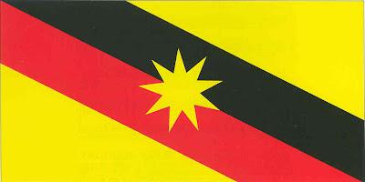 Latar belakang jata negara &; bendera negeri malaysia