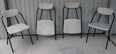 Vintage Folding Chairs, Cosco   50u0027s Era