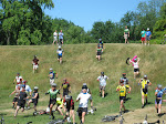 Start of the Team Tree Farm Mountain Bike Race