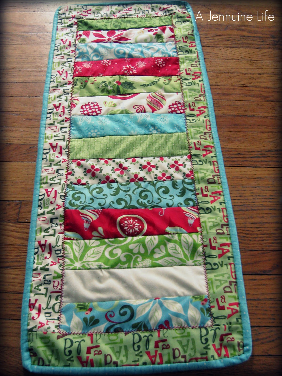 12  christmas runner tree Days Christmas table Runner quilt of pattern