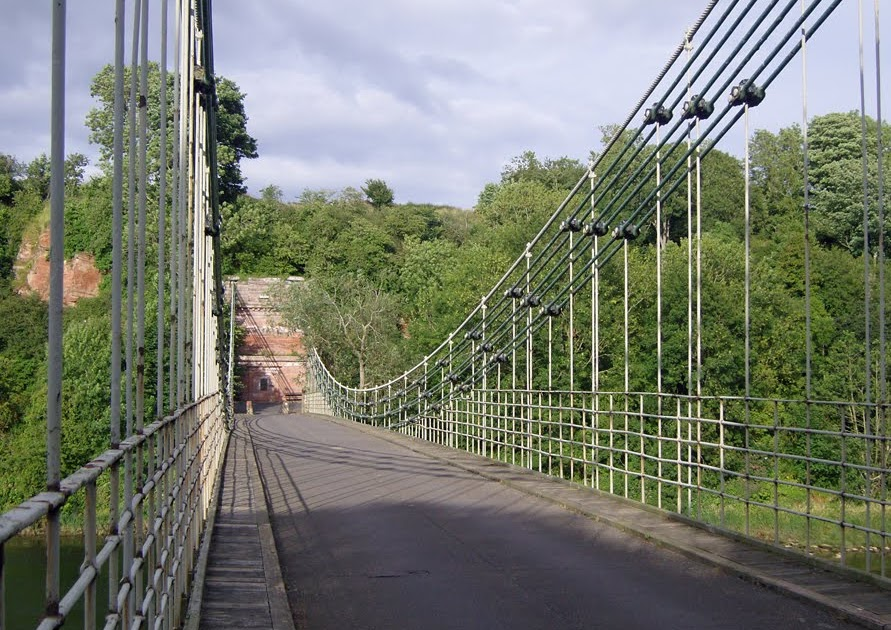 The Happy Pontist: Northumbrian Bridges: 1. Union Chain Bridge