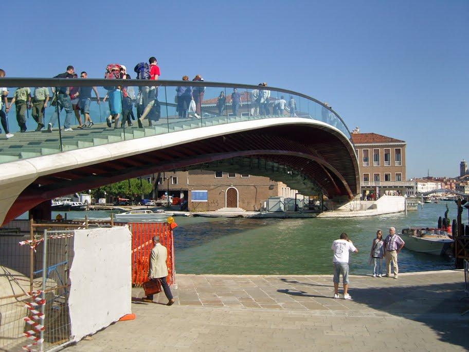 calatrava bridge venice photos - photo#22