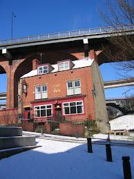 Below Byker Bridge