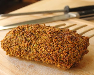 Pistachio Crusted Rack of Lamb – You'll Go Nuts for this Beautiful Rack!