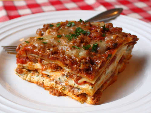 Food wishes video recipes a christmas lasagna for American italian cuisine