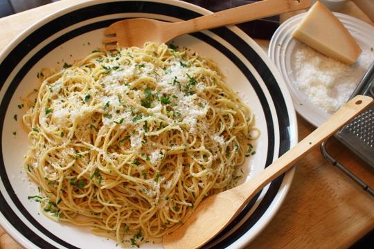 Coming Soon: Spaghetti Aglio e Olio