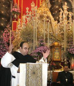 Fray Martín Alexis oficiará el Triduo de la Sentencia