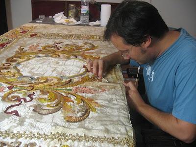 Enrique Salvo Rabasco restaurará la Virgen del Consuelo