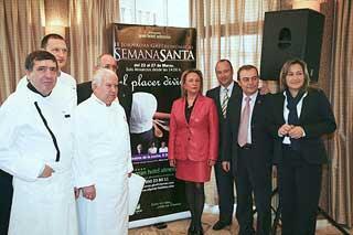 Presentadas las II Jornadas gastronómicas de Semana Santa del Gran Hotel Almería