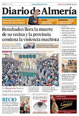 El Lunes Santo en la prensa