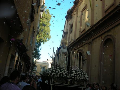 La Virgen del Rosario cierra el ciclo procesional