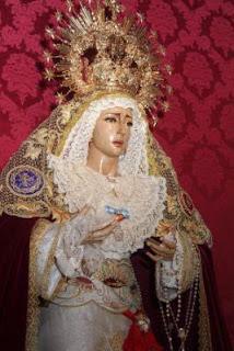 Ayer comenzó el Triduo de María Santísima de Gracia y Amparo
