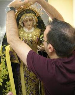 Fallece el padre del cofrade y vestidor Juan Rosales