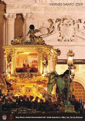 Ayer se presentó el cartel del Santo Sepulcro