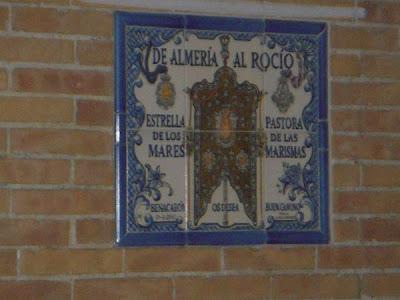 Benacazón le desea 'buen camino' a Almería con un azulejo
