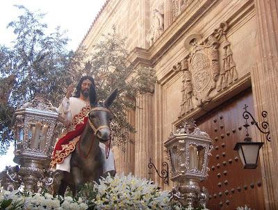 La Borriquita modifica el itinerario de ida el próximo Domingo de Ramos