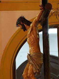El Cristo del Mar sale en Pescadería