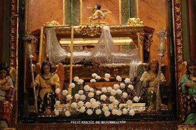 Feliz Pascua de Resurrección en el Santo Sepulcro