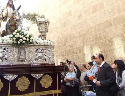 El Domingo de Ramos de 2009 según Canal Sur radio