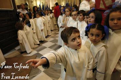 El viernes fiesta infantil en la Cruz del Prendimiento