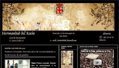 Diseño renovado para el blog de la Hermandad del Rocío