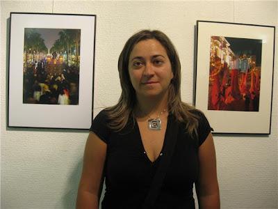 María Molina Hernández autora del cartel de la Semana Santa de 2010