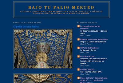 Nace un blog dedicado a la Virgen de la Merced