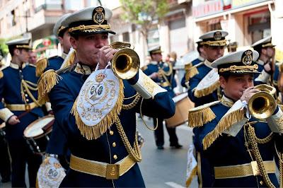 Instantes sonoros del Domingo de Ramos de 2009