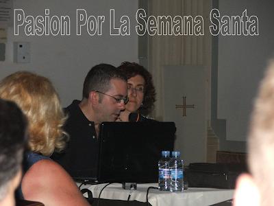 José Manuel Cosano imparte una conferencia sobre la restauración del camarín de la Virgen del Carmen de San Sebastián