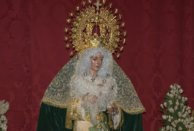 El próximo 3 de octubre la Esperanza Macarena volverá a salir en rosario