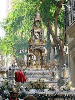 Cultos y procesión en la Catedral con ocasión del Corpus Christi