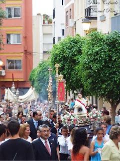 Tres procesiones recorrerán las calles de Almería esta tarde