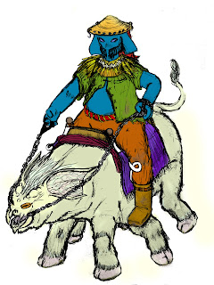 L'antre de Morgor Tanbharn+sur+Garrhob+color