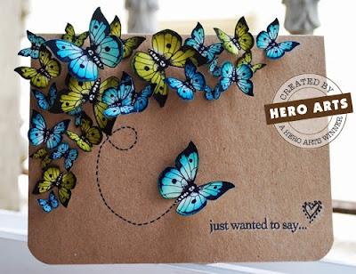 Бабочка для скрапбукинга своими руками 275
