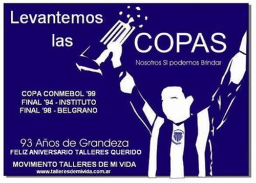 afiche del aniversario 93 de talleres (2006)