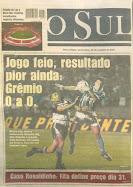 Copa Mercosur 2001- Gremio 0-0 Talleres
