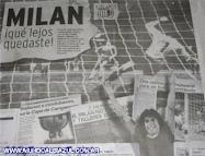 A 30 años de Talleres 1-1 Milan