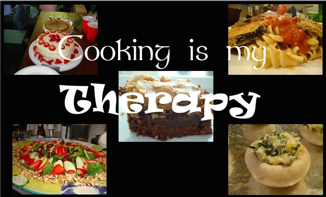 Cooking is My Therapy