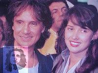 Roberto Carlos e sua segunda esposa, a atriz Myrian Rios. Foto exclusiva Blog *Roberto Carlos Braga*