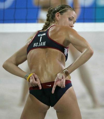 эротические фото пляжного волейбола
