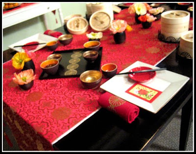 Getting last minute tickets to the Martha Stewart show was fortuitous as the show was all about Chinese New Year ideas on table setting (seen above with ... & Food And Drink: Happy Chinese New Year - Year of the Tiger!