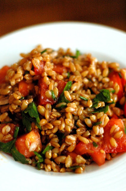 Farro Salad | High/Low Food/Drink