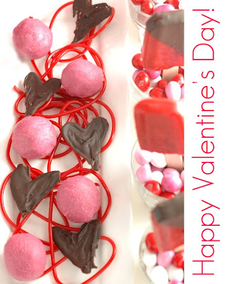 Valentines  Desserts on Recipe  Easy Entertaining  Valentine S Day Dessert Table By High Low