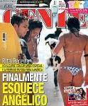 Rita Pereira na praia com namorado novo