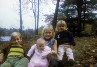 Julianna's siblings (3 of the 5). Photo taken while living in Boston.